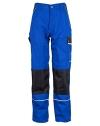 Arbeitshose Bundhose Canvas 320g/m² Blau Größe 48 (Bitte beachten Sie zur Ermittlung der für Sie passenden Größe bitte unbedingt unsere Größentabelle) -