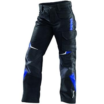 Kinder Handwerkerhose Pulsschlag / schwarz/blau C140 CORDURA® -