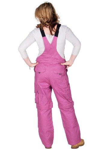 Rosies - Damen-Latzhose - Dunkelrosa Arbeits-Latzhosen Für sie jeanslatzhose -