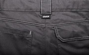 Uvex Arbeitshose perfekt workwear Cargohose; viele Taschen; Farbe: anthrazit; Größe 50 -