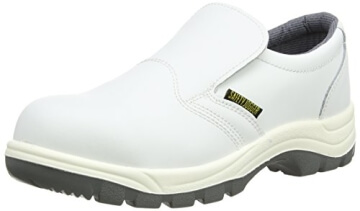 Safety Jogger X0500, Unisex - Erwachsene Arbeits & Sicherheitsschuhe S2, weiss, (wht/lgr 67), EU 43 -