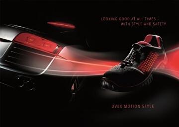 Uvex motion style Sicherheitsschuh 6998.8 S1 SRC 42 -